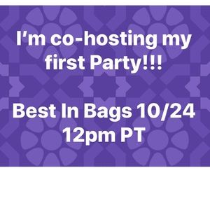 Show me your best bags! Best in bags Party Co-host